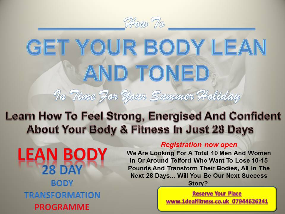 28 day lean body program